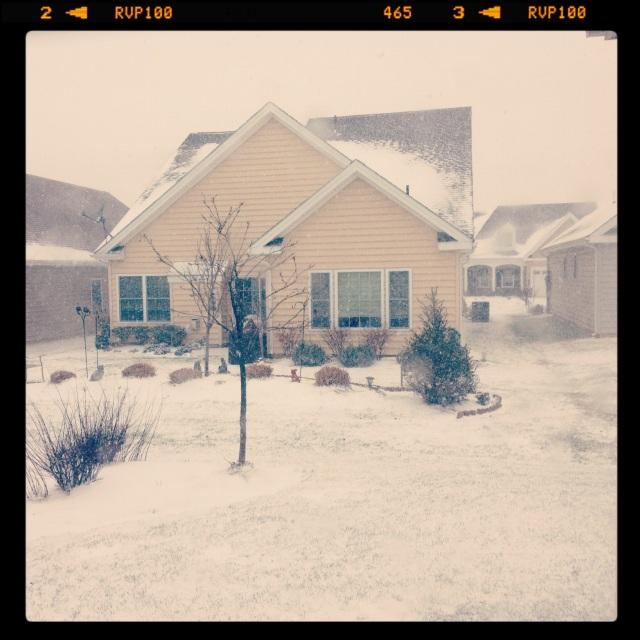 Snow XMas 2012