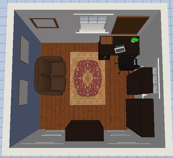 gloria & harry office - 3D