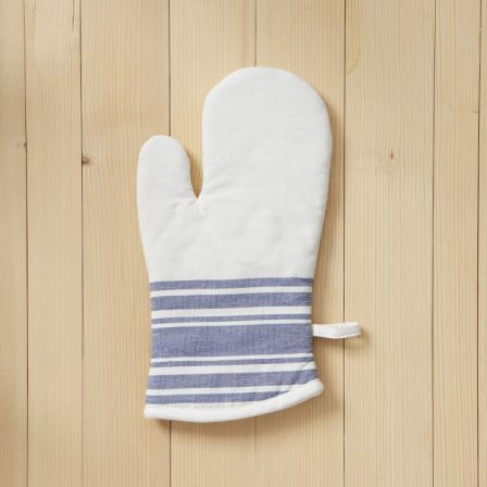 West Elm Cafe Stripe Oven Mitt
