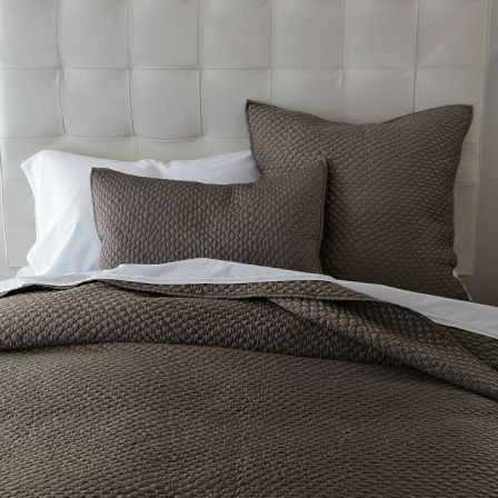West Elm Lexington Quilt & Shams