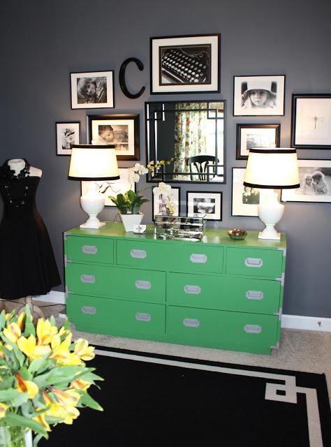 Campaign Emerald Dresser