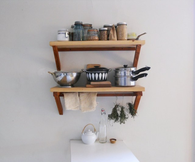 kitchen shelves straight shot