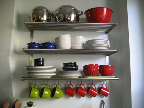 open shelving ikea 2