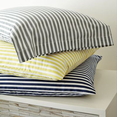 West Elm Striped Sheet Set
