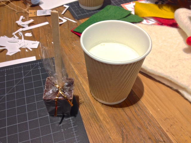 West Elm DIY Workshop: Ticket Hot Chocolate