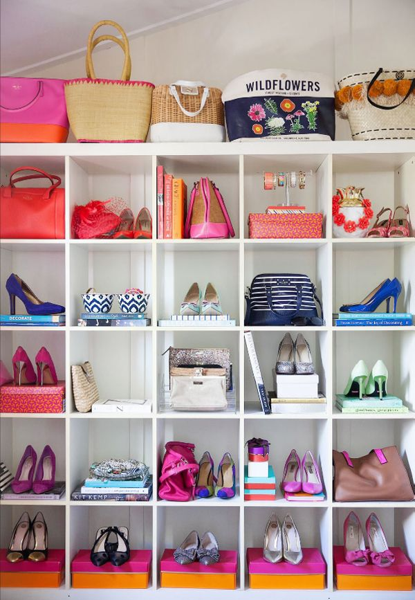 Adore Mag - Expedit Closet Style