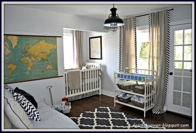 Eclectic Boys Nursery