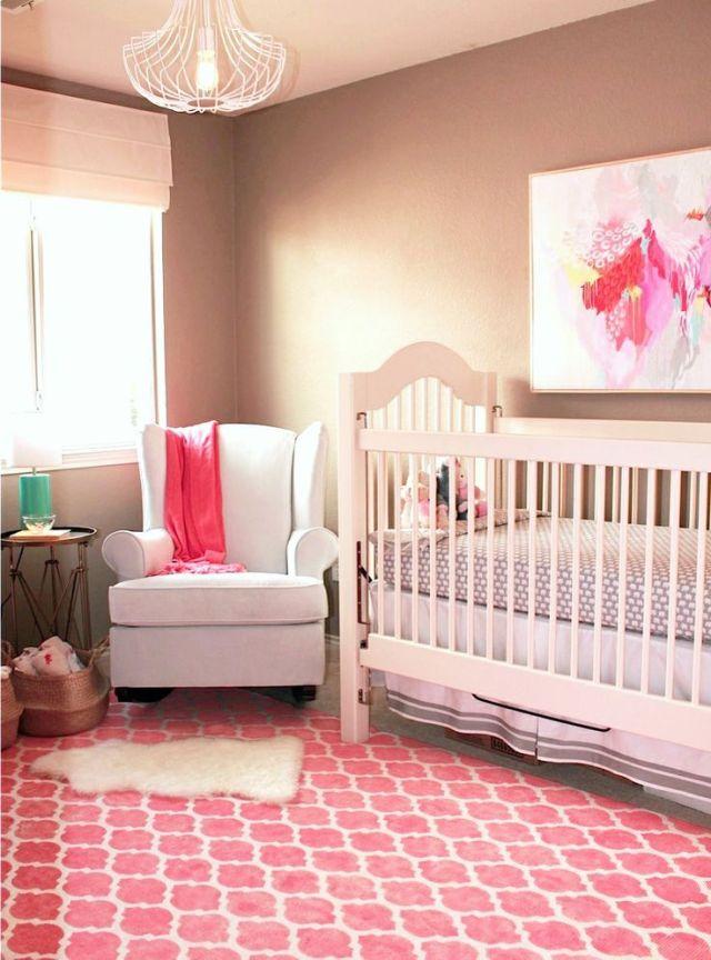 Modern Glam Nursery