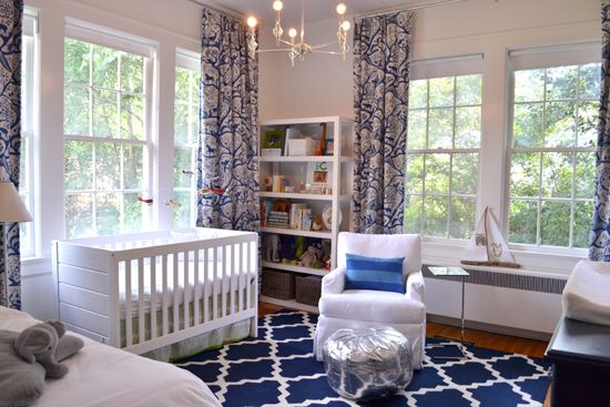 Navy Glam Nursery