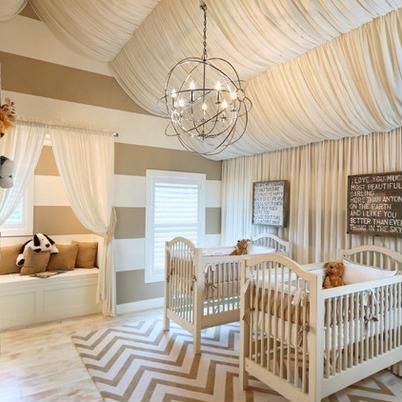 Neutral Modern Glam Nursery