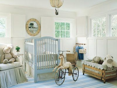 Traditional Vintage Nursery