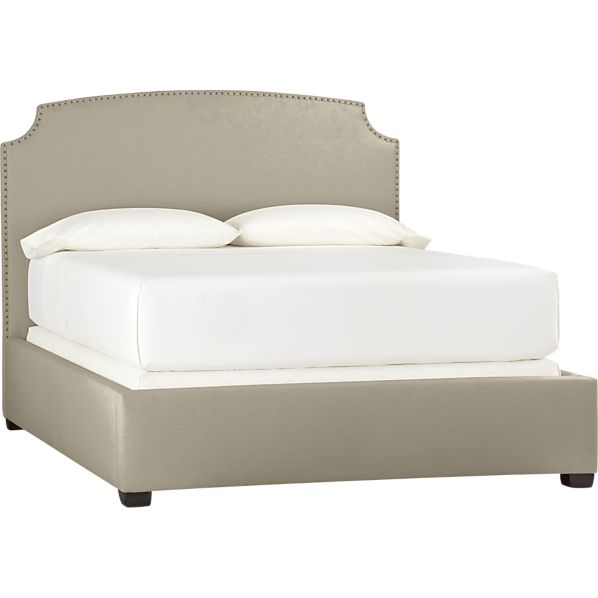 Curve Bed in Napa Camel