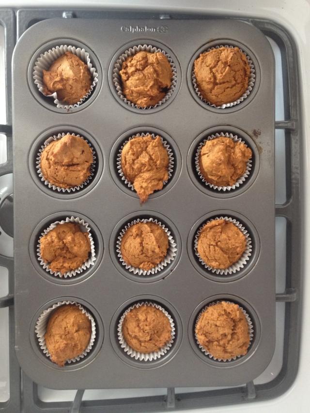 Pumpkin Muffins!