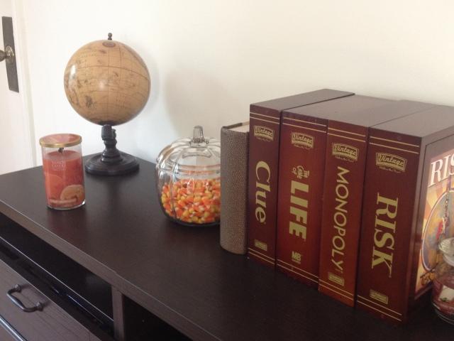 Pumpkin Candy Dish & Candle