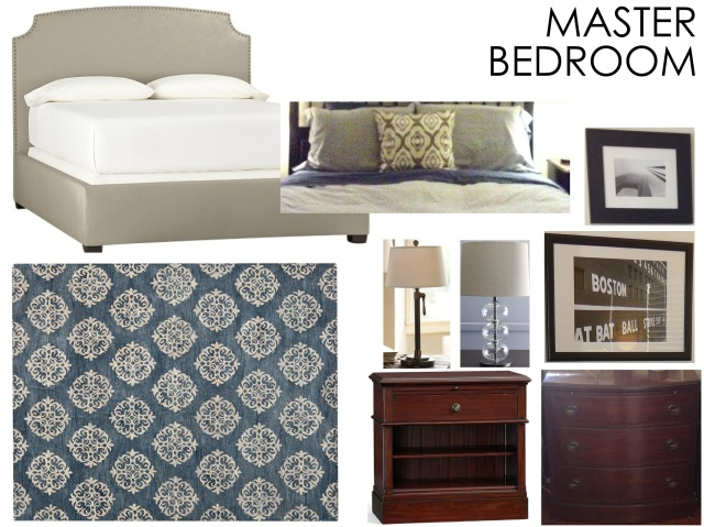 Master Bedroom Revamp Mood Board