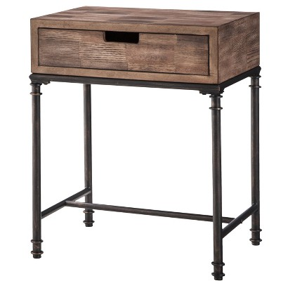 Threshold Mixed Material Side Table