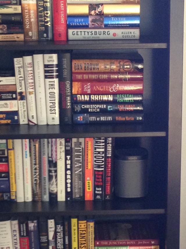 Play:1 on Living Room Bookshelf