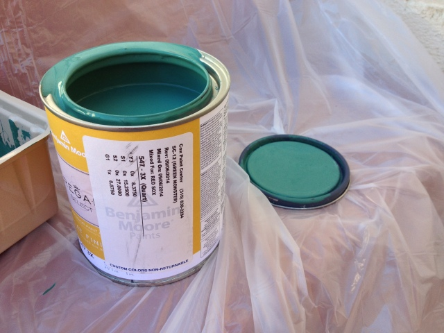 Benjamin Moore Green Monster