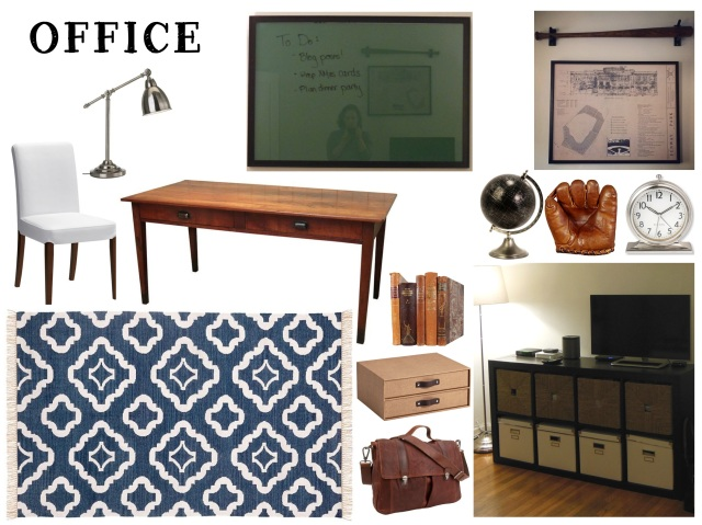 Mood Board for our new office space - Nov 2014