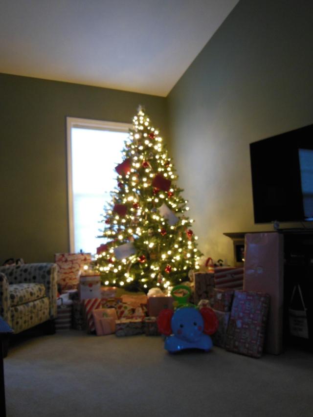 Mom's Xmas Tree 2014