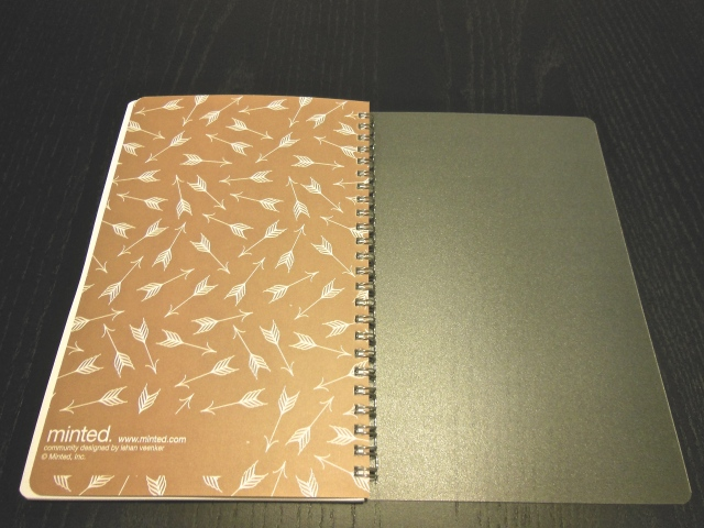 Minted Notebook 4