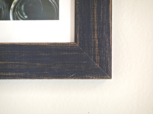 Minted Frame Detail