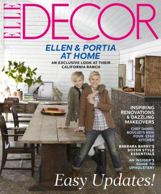 Elle Decor Cover
