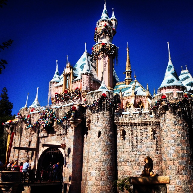 Disneyland - Sleeping Beauty's Castle
