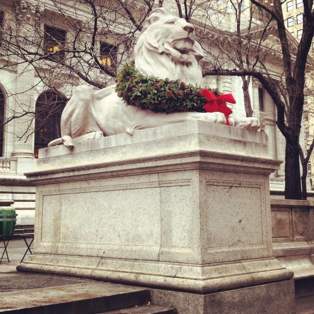 NY Public Library Lions