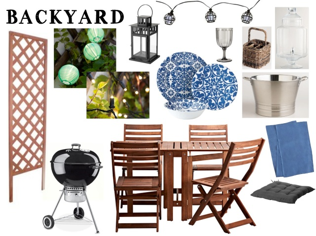 Backyard Revamp - Mood Board