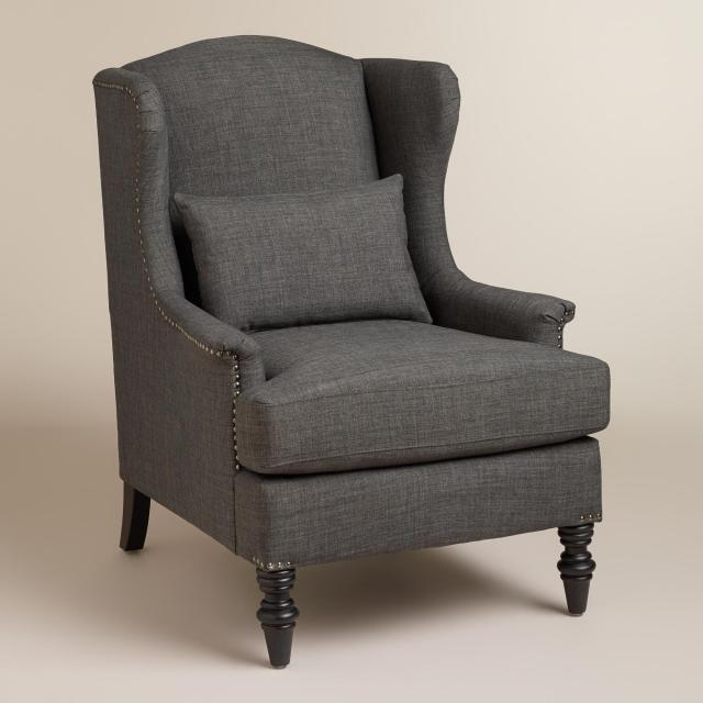 Charcoal Oscar Chair