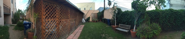 Backyard Pano