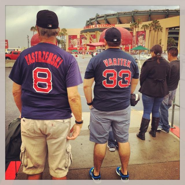 Red Sox Anaheim 2015