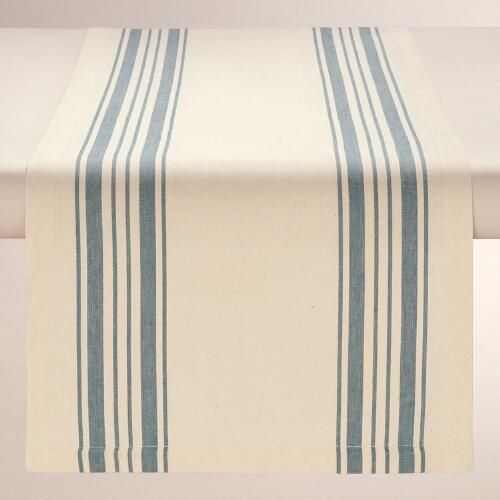Blue Stripe Runner