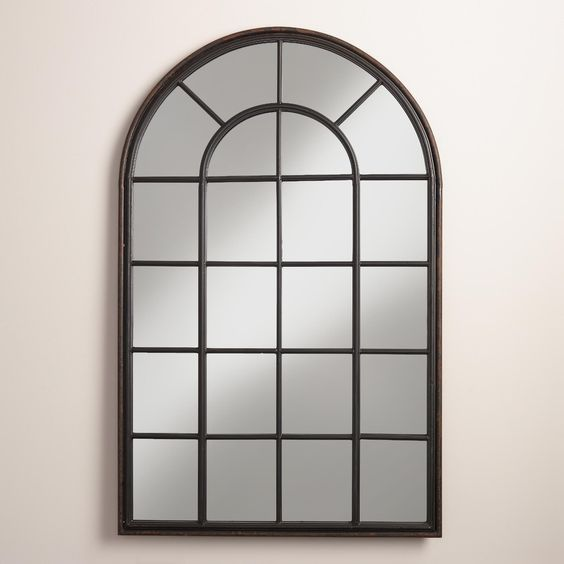 Windowpane Mirror