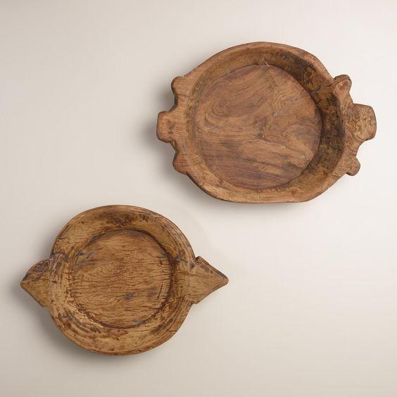Wood Parat Bowls